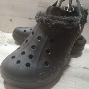 Crocs Classic Fuzz Lined Clog Unisex M 8 W 10